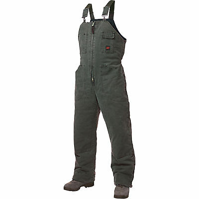 Tough Duck Washed Insulated Overall-S Moss #75371BMOSSS
