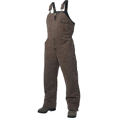 Tough Duck Washed Insulated Overall-XL Chestnut #75371BCHESTNUTXL