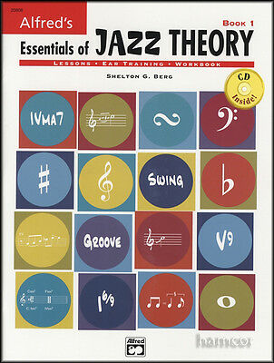 Alfred's Essentials of Jazz Theory Book 1/CD Lessons Ear Training Workbook