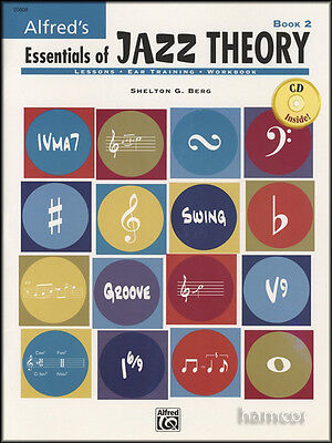 Alfred's Essentials of Jazz Theory Book 2/CD Lessons Ear Training Workbook