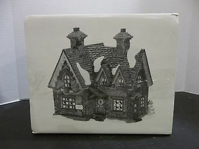 Department Dept 56 christmas snow village barmby moor cottage cabin house light