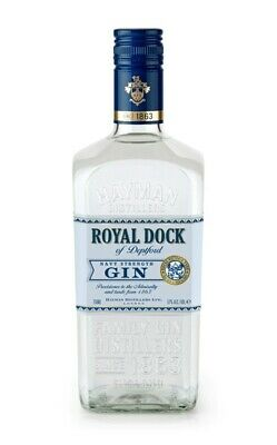(32,07€/l) Hayman's Royal Dock Navy Strength Gin 57% 0,7l Flasche