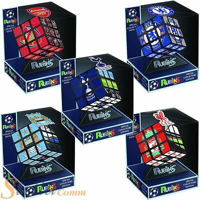 Official Rubiks Cube Premiership Football Team Collectors Edition Puzzles Gift