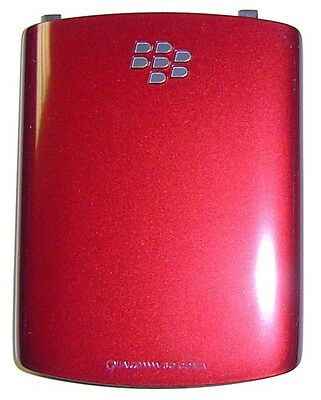 NEW BATTERY DOOR COVER BACK OEM BLACKBERRY 8520 8530 CURVE RED