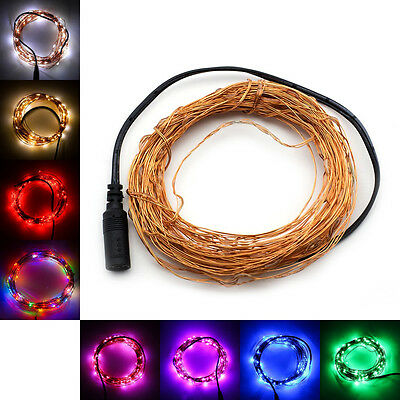SUPERNIGHT Copper Wire 10m 100LED 33Ft LED Starry Lights Strings Fairy Lamp