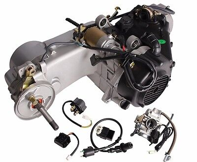 Short Case 150CC GY6 Scooter ATV Go-Kart Engine Motor 150 CVT Auto Carb Complete