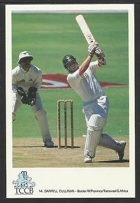 DARRYLL CULLINAN -- SOUTH AFRICA. OFFICIAL TCCB  POSTCARD No. 44.