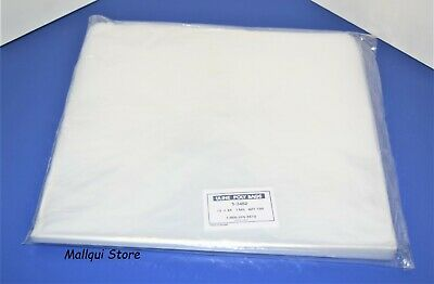 100 CLEAR 12 x 24 POLY BAGS PLASTIC LAY FLAT OPEN TOP PACKING ULINE BEST 1 MIL