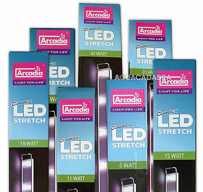 Arcadia Classica Led Stretch Freshwater Tropical Fish Tank Light Lighting Unit