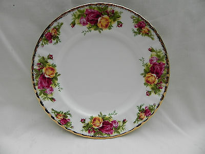 Royal Albert OLD COUNTRY ROSES SALAD / DESSERT PLATE 20.5cm.