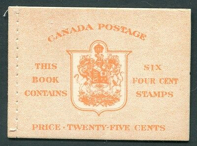 Canada - 1951 - Booklet - BK42b - English - KGVI 1949 - 51 Issue - MNH