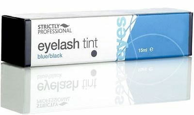 Strictly Professional Blue / Black Eyelash & Eyebrow Tint Dye For Lashes 15ml