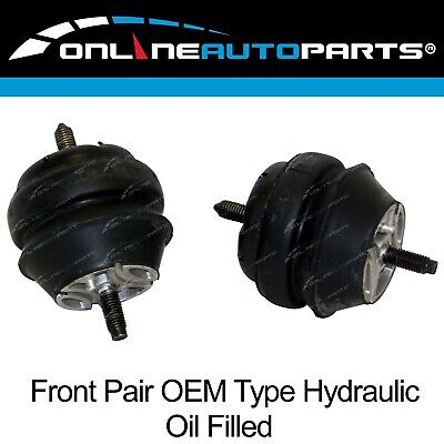 2 Front Heavy Duty Engine Mounts Ford Falcon Fairlane BA BF 2002-2008 4.0L 6cyl