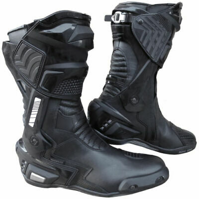 New GP3 Motorcycle Leather Sports Racing Track Performance Boots RRP $ 299