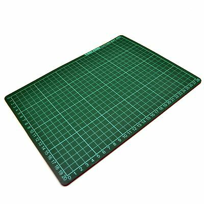 A4 Self Healing Cutting Mat Non Slip Printed Grid Line Knife Board TE374