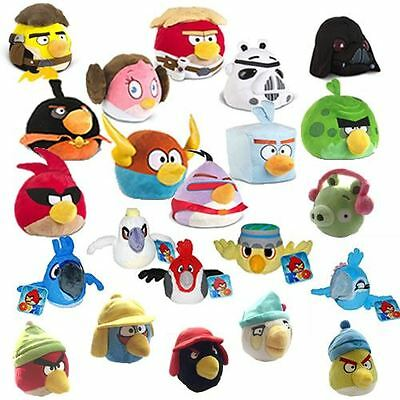 Official Angry Birds Soft Toys Space Star Wars Rio Winter Plush 5 8 12 Inch