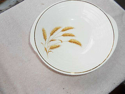 "Knowles Edwin Golden Wheat  9""  Round  Vegetable Bowl Yorktown"