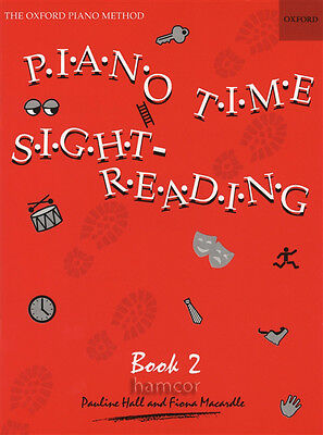 Piano Time Sight Reading Book 2 Oxford Piano Method Sheet Music Pauline Hall