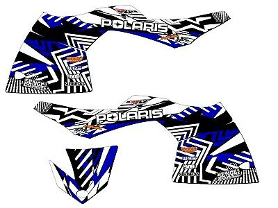 2005 2006 2007 2008 2009 2010 Polaris Rmk Graphics Kit Deco Wrap Decor 600 800