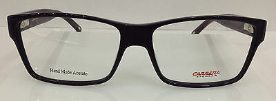 NEW AUTHENTIC CARRERA CA 6178 COL OF89 PURPLE PLASTIC EYEGLASSES FRAME 54MM
