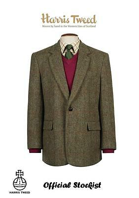 HARRIS TWEED Taransay Classic Jacket  Official Stockist Virgin wool  All Sizes