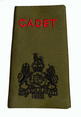 Official ACF / CCF Sergeant Major RSM RANK SLIDE for MTP ( Army Cadet Force WO1