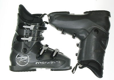 Used Rossignol Comp-j Ski Boots Youth Teen Size