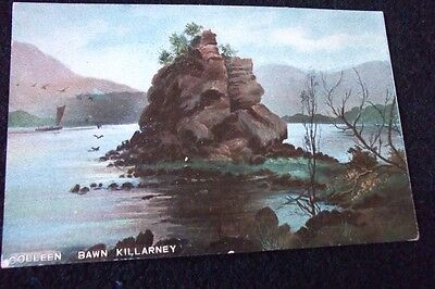 Old Postcard Of Colleen Bawn Killarney 1907
