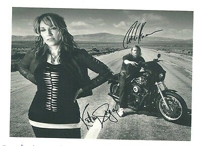 SONS OF ANARCHY  RP Autographed HQ GLOSSY FRIDGE MAGNET *08