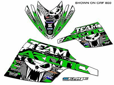 All Years Arctic Cat 120 Mini Graphics Kit Deco Wrap Decor