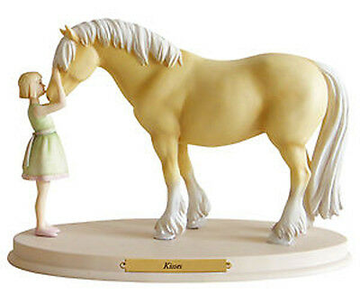 *NEW* Horse Whispers Whisperers KISSES Resin Figurine Hand Painted Ponies Pony