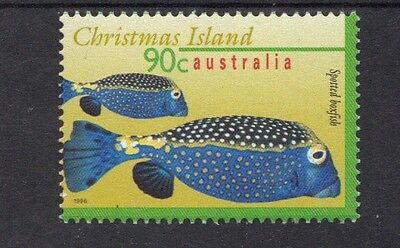 STAMPS from AUSTRALIA CHRISTMAS ISLAND 1996 MARINE LIFE 90c  (MNH) lot 879b