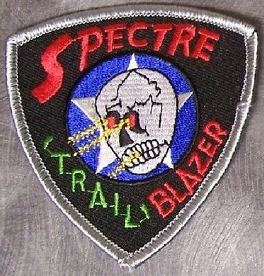 Embroidered Military Patch USAF Spectre Trail Blazer NEW