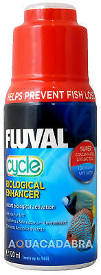 FLUVAL BIOLOGICAL CYCLE 120ml WATER FILTER BACTERIA FISH TANK FRESH NUTRAFIN
