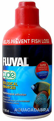 FLUVAL BIOLOGICAL CYCLE 500ml WATER FILTER BACTERIA FISH TANK FRESH NUTRAFIN