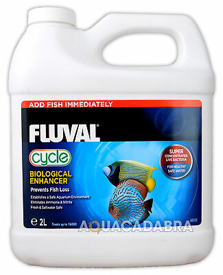 Fluval Biological Cycle 2L Litre Water Filter Bacteria Fish Tank Fresh Nutrafin
