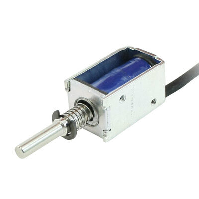 Pull Type Open Frame Actuator Electric Solenoid DC 12V 2mm 100g 1N