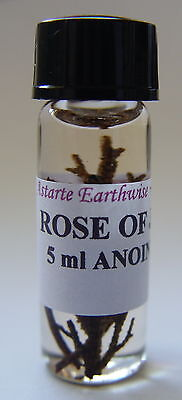 ROSE OF JERICHO OIL -  HOUSE BLESSING Wicca Witch Pagan Goth LOVE OIL BLESSINGS