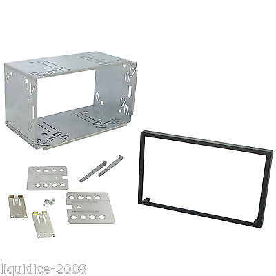 Kenwood Dpx 305U Replacement Double Din  Cage Kit Surround Radio Headunit