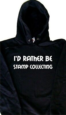 I/'d Rather Be Stamp Collecting Sweatshirt
