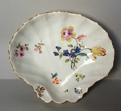 18c meissen Scallop Shell serving dish with fine provenance