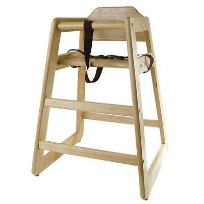 Restaurant Style Wooden High Chair delighful restaurant style wooden high chair cherry to design
