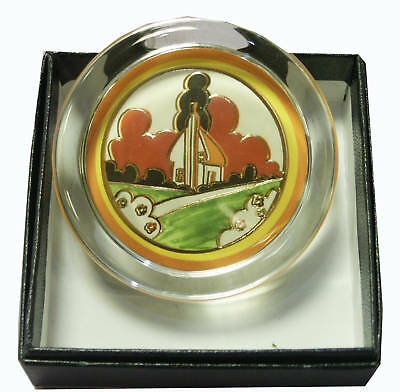 Clarice Cliff Small Paperweight - Farmhouse