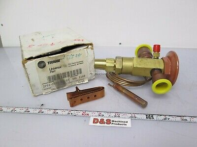 "New in Box Trane VAL 1100 2701-2560-01-07 Thermal Expansion Valve 7/8"" to 1 1/8"""
