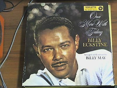 LP 33 GIRI - Billy Eckstine ‎– Once More With Feeling
