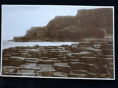Old Postcard Of The Headlands Giants Causeway - Unused