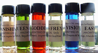 1 x KING SOLOMON ANOINTING OIL 5ml Wicca Witch Pagan Spell WISDOM & KNOWLEDGE