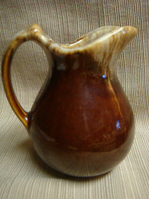 BROWN DRIP POTTERY Perfect & Classic MINIATURE PITCHER