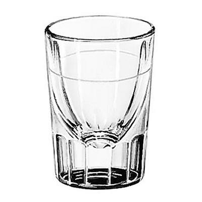 Libbey Glassware - 5126/A0007 - 2 oz Fluted Whiskey Glass w/1 oz Cap Line