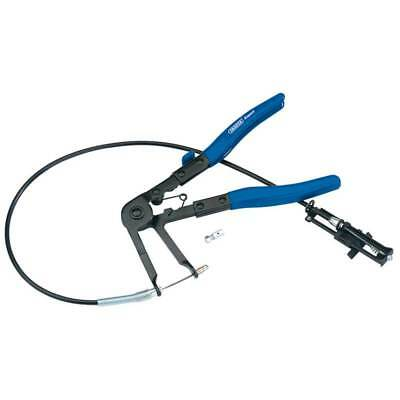 Draper Flexible Ratchet Hose Clamp Pliers For Spring-Loaded Self-Tightening Clip